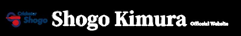 SHOGO Kimura official website